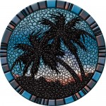 "29"" Palm Trees - Blue"