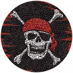 "29"" Pirate Mosaic"