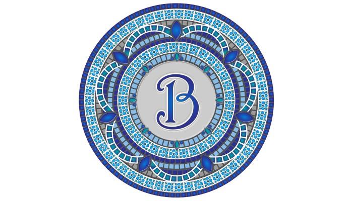 Monogram Mosaic: 59 in. B  (style 3)