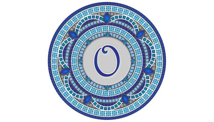 Monogram Mosaic: 59 in. O  (style 3)