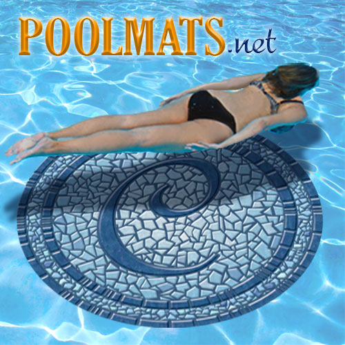 59 Quot Pool Monogram Mosaic By Poolsaic Pool Decals Non