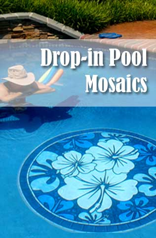 Poolsaic Pool Mats Non Adhesive Drop In Pool Decals