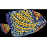 "Angelfish Mosaic - LG 100"" x 59"""