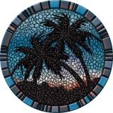 "Blue Palm Trees - 29"""