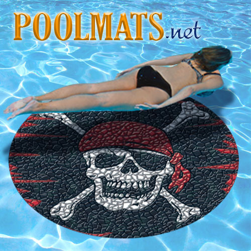 Pirate Mosaic 59 Quot Pool Medallion Xl Non Adhesive Pool
